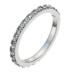 Radiance With Clear Swarovski Crystal Pave Ring Size L - Product number 9724915