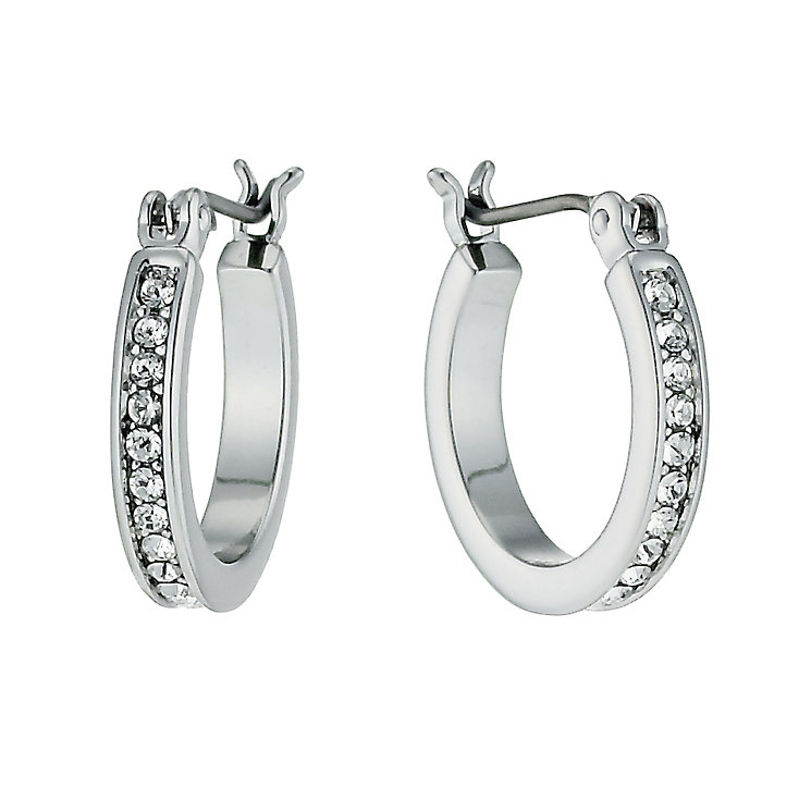 Radiance With Clear Swarovski Crystal Hoop Earrings - Product number 9724990