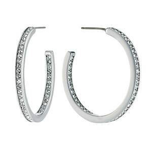 Radiance With Swarovski Crystal Large Hoop Earrings - Product number 9725008
