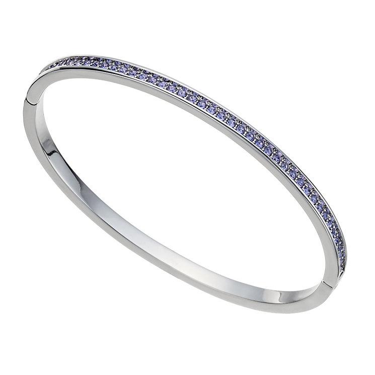 Radiance With Purple Swarovski Crystal Bangle - Product number 9725024