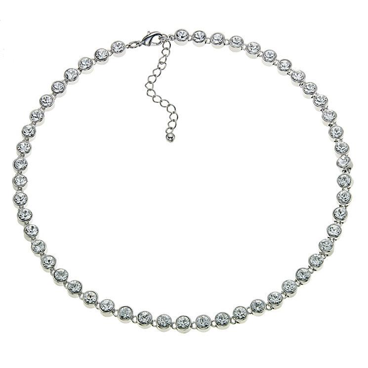 Radiance With Swarovski Crystal Tennis Necklace