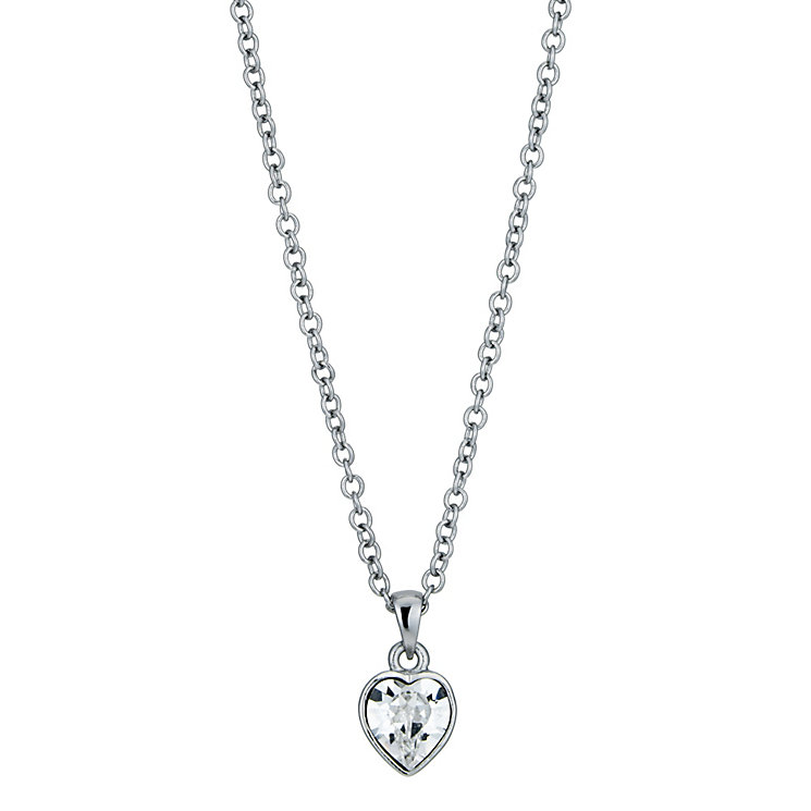 Radiance With Swarovski Crystal Elements Heart Pendant - Product number 9725105