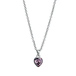 Radiance With Pink Swarovski Crystal Heart Pendant - Product number 9725156