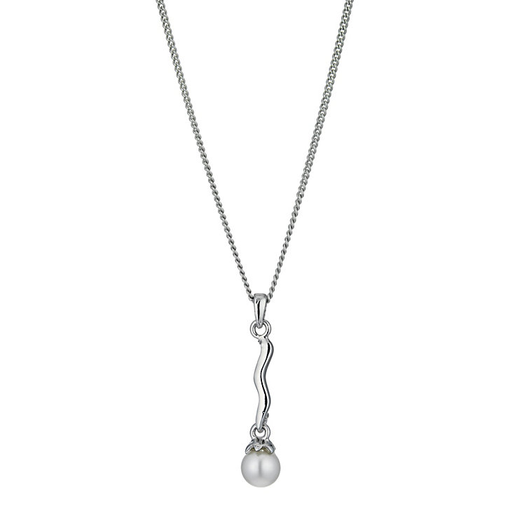 Radiance Long Pearl Pendant - Product number 9725296