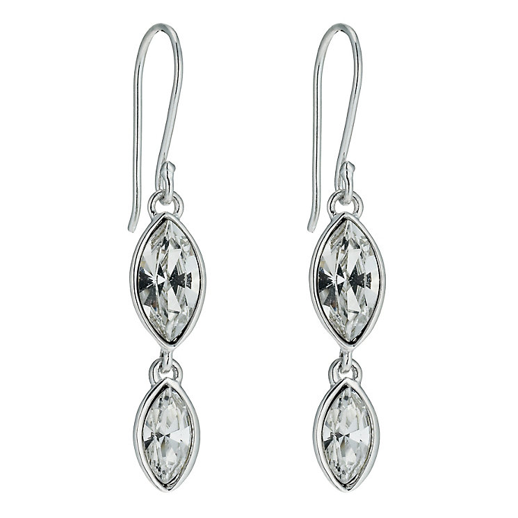 Radiance With Swarovski Crystal Marquise Drop Earrings - Product number 9725350