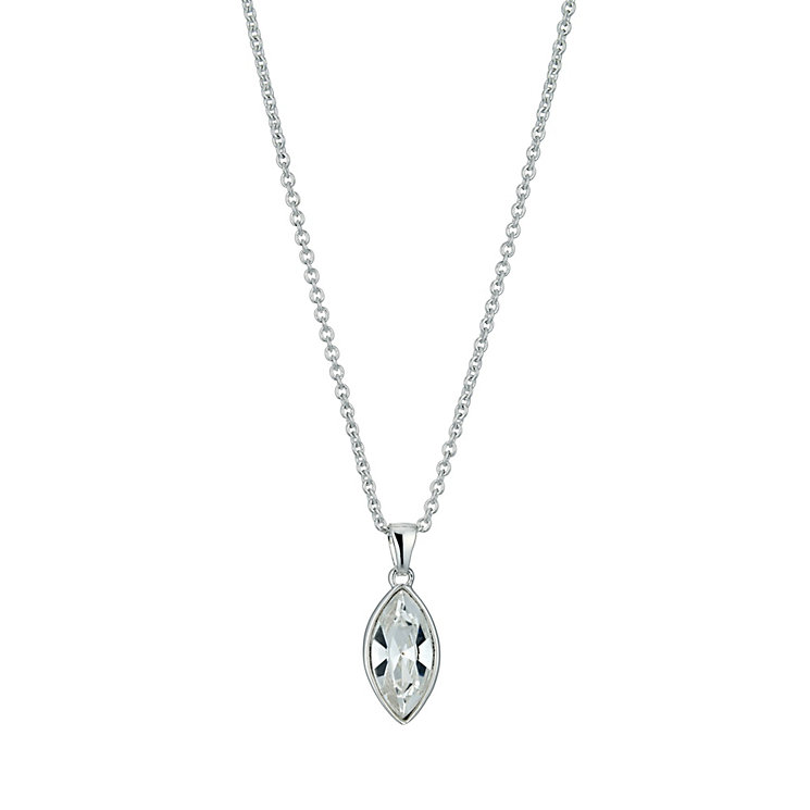 Radiance With Clear Swarovski Crystal Marquise Pendant - Product number 9725385