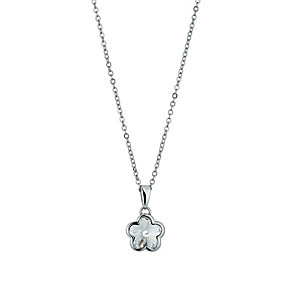Radiance With Clear Swarovski Crystal Flower Pendant - Product number 9725423