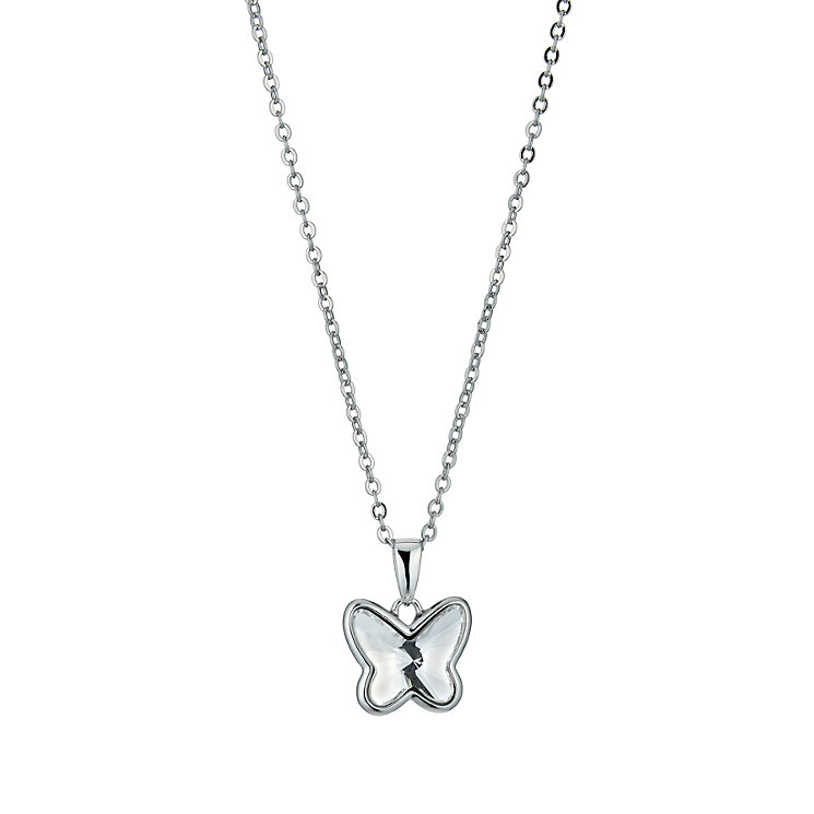 Radiance With Clear Swarovski Crystal Butterfly Pendant - Product number 9725458