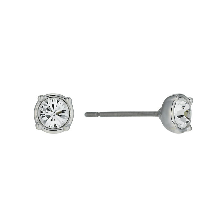 Radiance With Clear Swarovski Crystal Stud Earrings - Product number 9725474
