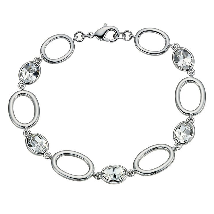Radiance With Swarovski Crystal Oval Bracelet - Product number 9725539