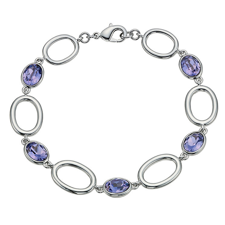 Radiance With Purple Swarovski Crystal Bracelet - Product number 9725547
