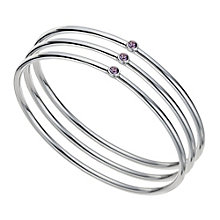 Radiance With Swarovski Crystal Three Stacker Bangle - Product number 9725598