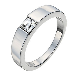 Radiance With Square Swarovski Crystal Element Ring P - Product number 9725652