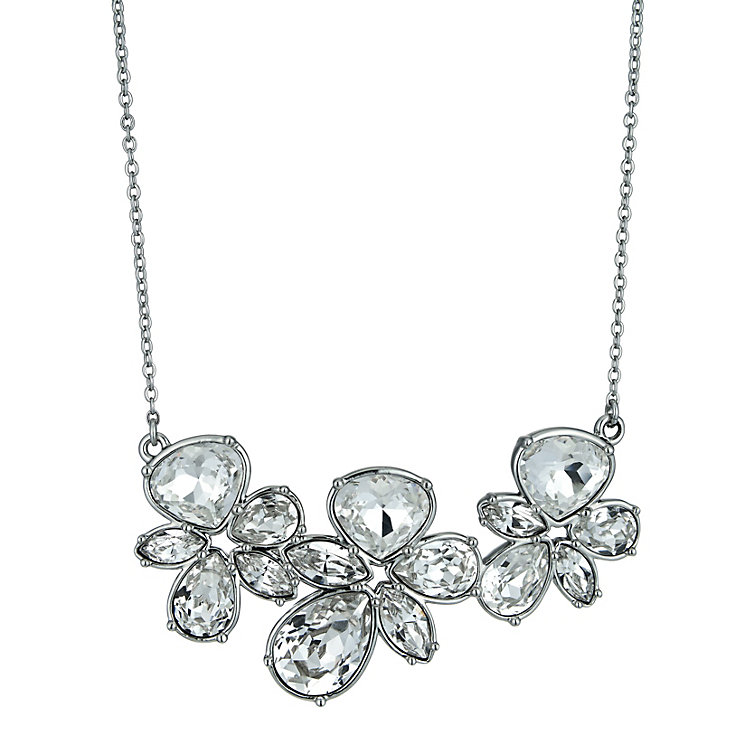 Radiance With Swarovski Crystal Triple Flower Necklace - Product number 9725725