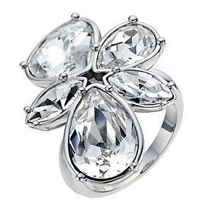 Radiance With Swarovski Crystal Elements Flower Ring P - Product number 9728147