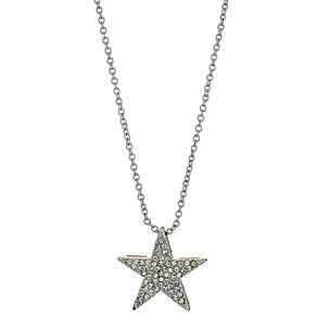 Stone Set Star Pendant Necklace - Product number 9740872