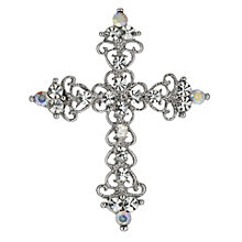 Crystal Cross Brooch - Product number 9741194