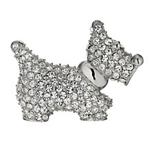 Crystal Scottie Brooch - Product number 9741259