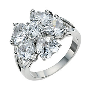 Crystal Flower Ring Size Medium - Product number 9741313