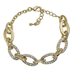 Stone Set Large Link Bracelet - Product number 9741453