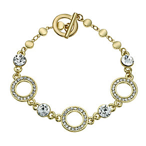 Crystal Circle Link Bracelet - Product number 9741534
