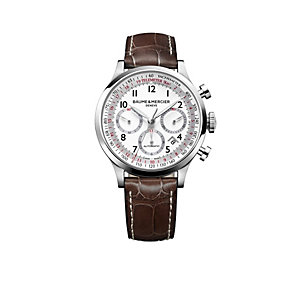 Baume & Mercier Capeland men's stainless steel strap watch - Product number 9742018