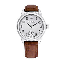 Bulova Accutron Gemini men's brown leather strap watch - Product number 9742476