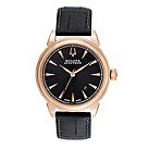 Bulova Accutron Gemini men's brown leather strap watch - Product number 9742522