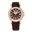 Bulova Accutron Kirkwood men's brown leather strap watch - Product number 9742565
