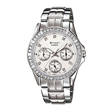 Casio Sheen Ladies' Silver Dial Bracelet Watch - Product number 9743626