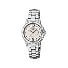 Casio Sheen Ladies' Silver Dial Bracelet Watch - Product number 9743707