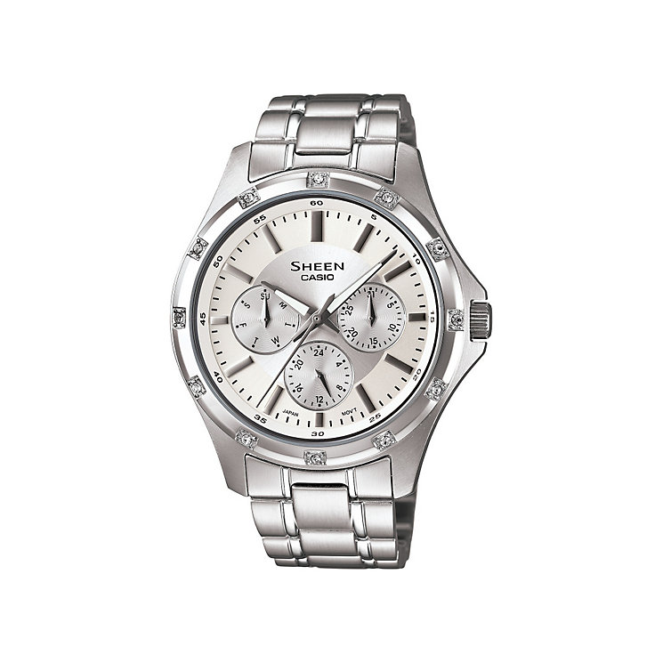 Casio Sheen Ladies' Stainless Steel Bracelet Watch - Product number 9743774