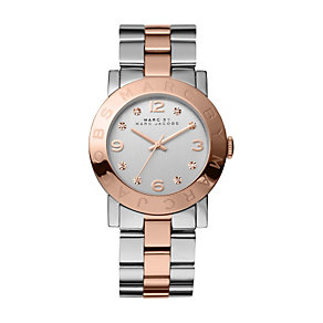 Marc by Marc Jacobs ladies' two colour bracelet watch - Product number 9744436