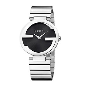 Gucci Interlocking ladies' stainless steel watch size large - Product number 9747494