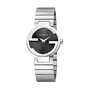 Gucci Interlocking G ladies' stainless steel watch small - Product number 9747524