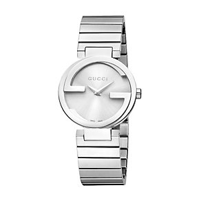 Gucci Interlocking ladies' stainless steel watch size small - Product number 9747532