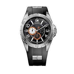 Hugo Boss Orange Men's Stainless Steel Black Strap Watch - Product number 9754555