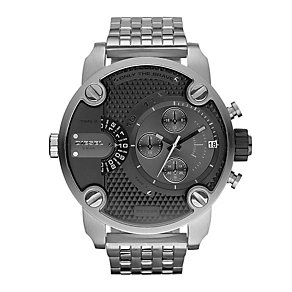 Diesel Men's Little Daddy Stainless Steel Bracelet Watch - Product number 9756183