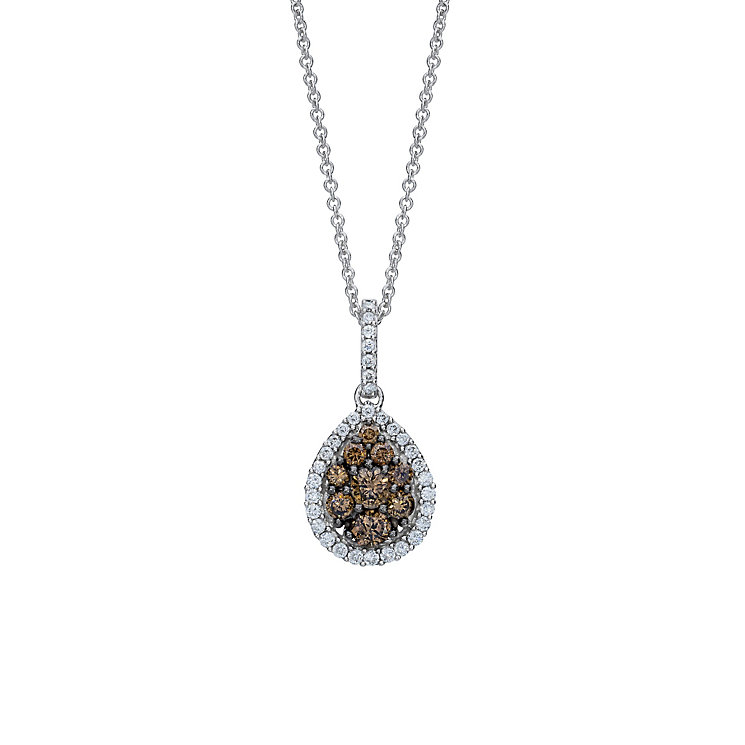 Le Vian 14 Carat Vanilla Gold Diamond Pendant - Product number 9757171
