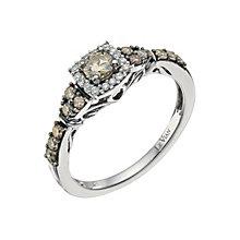 Le Vian 14ct Vanilla Gold diamond & Chocolate Diamond ring - Product number 9758283