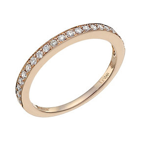 Le Vian 14ct Strawberry Gold diamond ring - Product number 9758852
