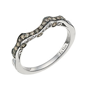 Le Vian 14ct Vanilla Gold Chocolate Diamond shaped ring - Product number 9759247
