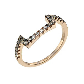 Le Vian 14ct Strawberry Gold 35 point Chocolate Diamond ring - Product number 9759786