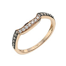 Le Vian 14ct Strawberry Gold diamond shaped band - Product number 9759905