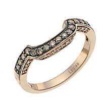 Le Vian 14ct Strawberry Gold Chocolate Diamond band - Product number 9760032