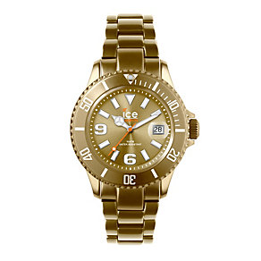 Ice-Watch Ice-Alu Men's Gold Bracelet Watch - Product number 9761713