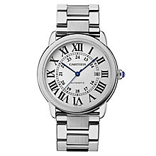 Cartier Ronde Solo men's stainless steel bracelet watch - Product number 9768521