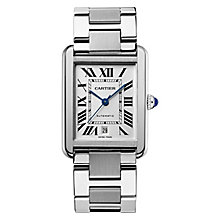 Cartier Tank Solo men's stainless steel bracelet watch - Product number 9768998