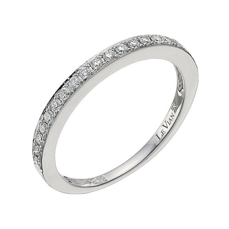 Le Vian 14ct Vanilla Gold diamond band - Product number 9769072
