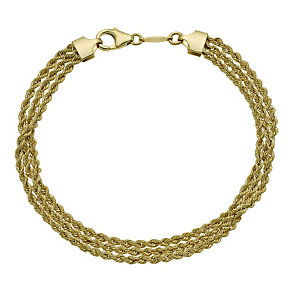 Together Bonded Multi Strand Rope Bracelet - Product number 9771034